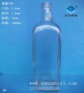 1000ml方形橄榄油玻璃瓶