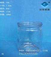 430ml圆形蜂蜜玻璃瓶