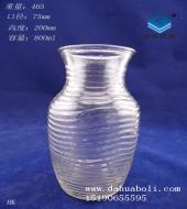 800ml工艺玻璃花瓶