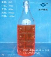 1000ml卡扣玻璃瓶