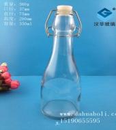350ml卡扣玻璃酒瓶