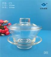 200ml玻璃盖碗茶