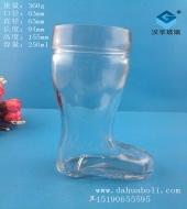 250ml玻璃鞋