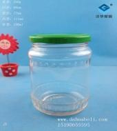 330ml花边罐头玻璃瓶