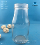 300ml玻璃牛奶瓶