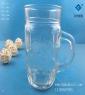 220ml啤酒玻璃把子杯