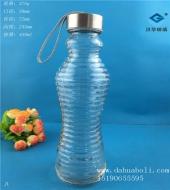 450ml出口玻璃手提奶瓶