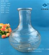 500ml出口工艺玻璃酒瓶