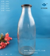 1000ml丝口牛奶玻璃瓶