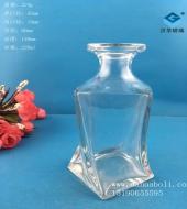 200ml工艺玻璃酒瓶