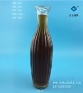 580ml喇叭花口玻璃花瓶