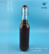 500ml卡扣玻璃瓶