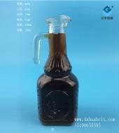 230ml鸭嘴玻璃油壶