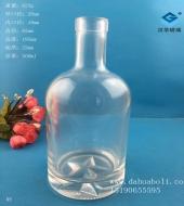 500ml伏特加玻璃酒瓶