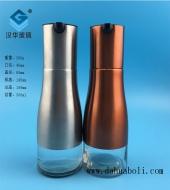 300ml电镀银色玻璃油壶