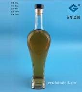 700ml心形工艺玻璃红酒瓶