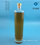 1000ml晶白料玻璃酒瓶