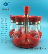 100ml大红色盖胡椒粉玻璃瓶