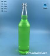 650ml伏特加玻璃酒瓶