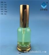 30ml电镀金色喷雾玻璃瓶