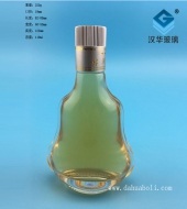 100ml扁葫芦玻璃小酒瓶