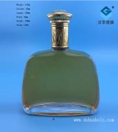 750ml出口威士忌玻璃酒瓶