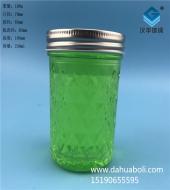 230ml钻石蜂蜜玻璃瓶