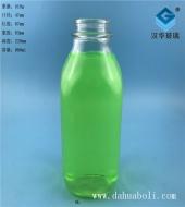 900ml方形出口牛奶玻璃瓶