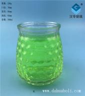 350ml气泡玻璃蜡烛杯