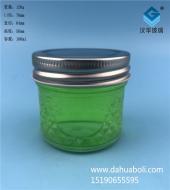 100ml钻石玻璃蜂蜜瓶