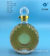 500ml冰花XO洋酒玻璃瓶