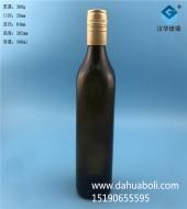 500ml茶色方形玻璃酒瓶