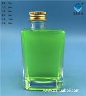 300ml长方形丝口玻璃酸奶瓶