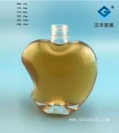 150ml苹果玻璃小酒瓶