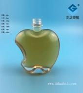 450ml工艺苹果玻璃酒瓶