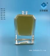 100ml方形厚底玻璃香水瓶