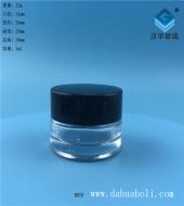 5ml透明膏霜玻璃瓶