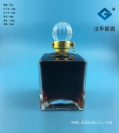 500ml正方形高档玻璃酒瓶