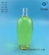 370ml椭圆形玻璃酒瓶