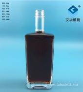 500ml丝口长方形玻璃酒瓶