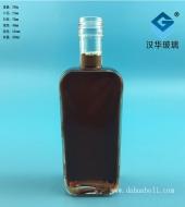 250ml长方形玻璃酒瓶