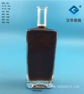 450ml长方形玻璃酒瓶