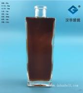 200ml长方形玻璃酒瓶