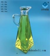 350ml鸭嘴方底玻璃橄榄油瓶