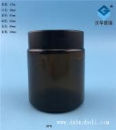 100茶色玻璃烛台罐