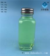 60ml方形胡椒粉玻璃瓶