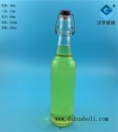 500ml卡扣玻璃酒瓶