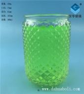 300ml菱形玻璃烛台