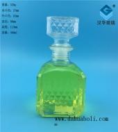 450ml出口方形玻璃酒瓶