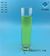 300ml直筒玻璃水杯